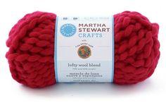 Martha Stewart CraftsTM/MC Lofty Wool Blend Yarn from Lion Brand Yarn