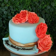 """Bespoke Cake - A special cake was made with love for a special person on a special day. (For Bespoke Cakes, choose your favorite flavor from one of our 16 types like """"Coconut cake filled with Passion Fruit Curd Cream, iced with Coconut Cream""""). #thecakebar #TCBDubai #zomato #thecakebardubai  #bespoke #instagood #thecakebarfan #swag #love #fruits #foodporn #organic #cafedubai #mydubai #behappy #edibleartistry #everyflavortellsastory #baking #yummy #sweettooth #instalike #instadubai…"""