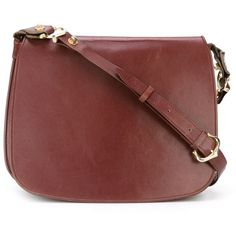 Cartier Vintage Cross Body Bag 1 309 Liked On Polyvore Featuring Bags Handbags Shoulder Red Crossbody