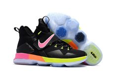 big sale c7128 28cc0 Find Nike LeBron 14 SBR Black Rainbow Multi Color Cheap To Buy online or in  Yeezyboost. Shop Top Brands and the latest styles Nike LeBron 14 SBR Black  ...