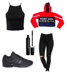 """""""Untitled #53"""" by amysonmaijah on Polyvore featuring adidas, NLY Trend and Marc Jacobs"""