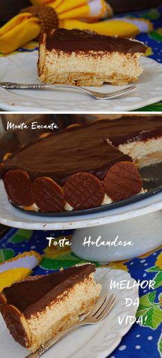 Torta holandesa é a sobremesa mais pedida por aqui
