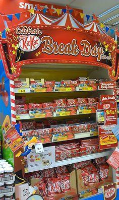 Celebrate KitKat Break Day With Us Shelf | The Selling Points