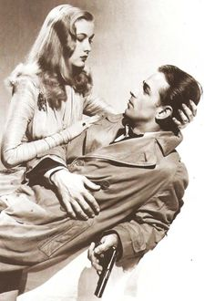 Veronica Lake and Alan Ladd