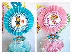 Resultado de imagen para centros de mesa paw patrol 2 Year Old Birthday Party, Twin Birthday, Mickey Birthday, 4th Birthday Parties, Sky Paw Patrol, Paw Patrol Party, Paw Patrol Birthday, Fiesta Party, Childrens Party