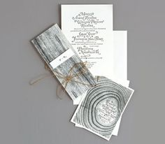 Nature inspired wedding invitation - love this. Maybe with a photo of birch bark instead of the tall grain Creative Wedding Invitations, Wedding Invitation Inspiration, Wedding Stationery, Wedding Inspiration, Wedding Ideas, Wedding Planning, Woodsy Wedding, Our Wedding, Spring Wedding