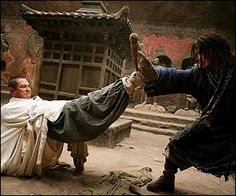 Kung fu-obsessed Jason Tripitikas (Angarano) falls off a roof while holding a Chinese fighting staff, and is somehow transported to ancient China.