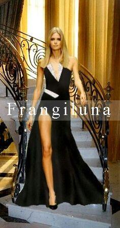 Frangiluna Moda Italiana fashion designer :  Antonio Frangiluna Scrimenti #glamourfashionweek New York -  Desfile Internacional 2015