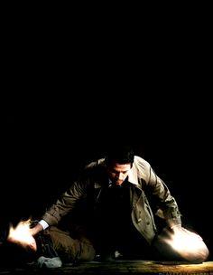 Cas, you bamf. #Supernatural