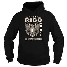 Cool Its a RIGO Thing You Wouldnt Understand - Last Name, Surname T-Shirt (Eagle) T-Shirts