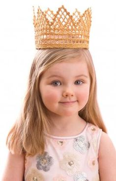 Every child will enjoy feeling like royalty in this beautiful crocheted crown. It's perfect for birthdays, Halloween or everyday dress up. http://sulia.com/channel/crafts/f/dcb3cbc1563f41325a3e1e944bebd211/?
