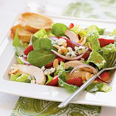 Chicken and Strawberry Salad | MyRecipes.com