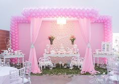 Birthday decoration ideas by Melting flowers! We also provide Birthday party decorations services as per our clients' special needs & requirements. We specialize in birthday party, theme birthday decorations in Bangalore, Chennai, Mysore & South India. Ballerina Birthday Parties, Ballerina Party, Baby Girl Birthday, Princess Birthday, Princess Party, Stage Decorations, Balloon Decorations, Birthday Party Decorations, Baby Shower Decorations