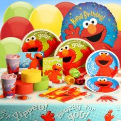 Elmo Party Activities and bunch of other stuff