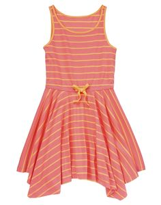 Stripe Handkerchief Dress at Crazy 8 (Crazy 8 4-14y)