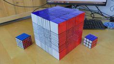 22x22ルービックキューブを解く時間>寿命 : ギズモード・ジャパン