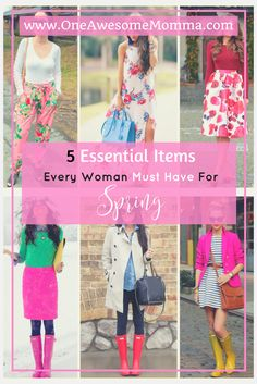 Are you starting to plan your spring outfits? Check out this 5 spring must haves that every woman should have in her wardrobe, it is the ultimate guide and has everything you need for spring essentials. Click on the link to learn more about these wardrobe essentials for your spring fashion.