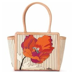 Brighton Vera Poppy Tote  to purchase call NCH Galleries at (951)734-5989