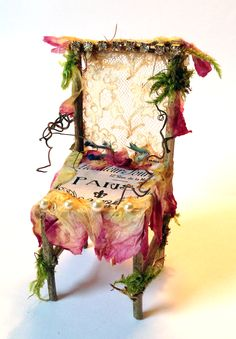 Elves Faeries Gnomes: #Faery chair.