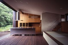 indoor/outdoor kitchen