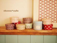 紙管リメイクBOX | chocoa* cafe
