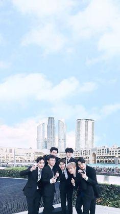 Exo in dubai 2018 Chanyeol Baekhyun, Exo Kai, K Pop, Exo Music, Exo Songs, Exo Group, Exo Official, Exo Lockscreen, Kim Minseok