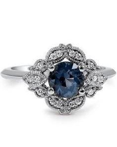 http://rubies.work/1021-multi-gemstone-ring/ Embellished Sapphire Ring