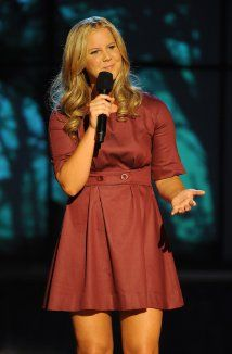 Amy Schumer. Stand Up Comedian. This girl is hilarious. It takes a big pair of balls to talk about balls as much as this chick does.