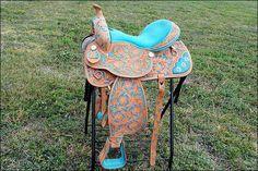 hilason barrel saddle, love this one!