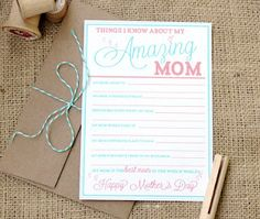 Free Friday- Free Mother's Day Printables  Paper and Pigtails put up these awesome freebie printables, check out her blog for more themes,she's got tons!