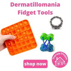 Fidget Tools for Dermatillomania (Skin Pickers) Fidget Tools, Dermatillomania, Sensory Tools, Tools And Toys, Diy, Bricolage, Handyman Projects, Do It Yourself, Diys