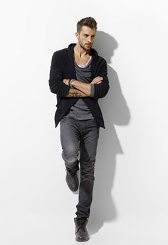 Cool Casual Style For Men.