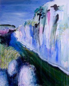 """Saatchi Online Artist: John Davison; Oil, 2011, Painting """"Orange Ground # 4"""""""