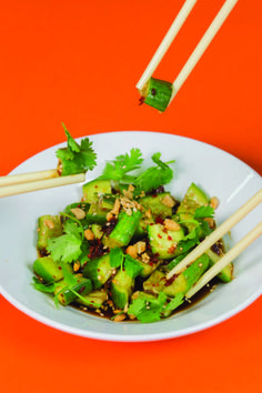 Chineasy Cucumber Salad