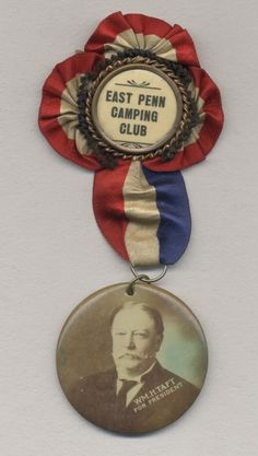 Taft Campaign button