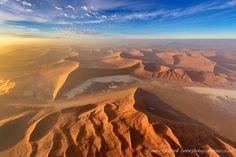 Namib Desert at sunrise | Photography by ©James Gradwell