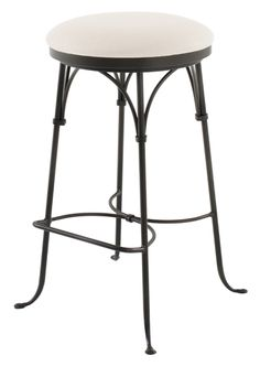 "Shaker Arch Backless Swivel Barstool 30""  by Charleston Forge Made in USA http://www.charlestonforge.com/bar-stools/C305_Shaker_Arch_Backless_Swivel_Barstool"