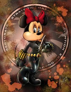 Disney vs Marvel: Minnie Widow by steevinlove on DeviantArt Mickey Mouse Y Amigos, Mickey Mouse And Friends, Mickey Minnie Mouse, Disney Mickey, Disney Art, Mickey Mouse Wallpaper, Disney Wallpaper, Disney Images, Disney Pictures