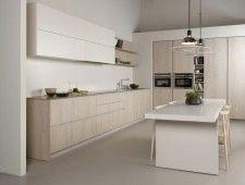 (Español) Muebles de Cocina Roble Tempo Claro - Muebles de Cocina Novelty