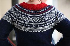 Ravelry: Marius-genser rund sal pattern by Unn Søiland Dale Fair Isle Knitting Patterns, Fair Isle Pattern, Knit Patterns, Fair Isle Pullover, Norwegian Knitting, Folk Fashion, Knitting Projects, Ravelry, Christmas Sweaters