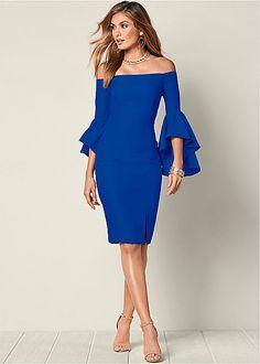 Sleeve Detail Dress | VENUS