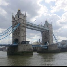 Tower Bridge, London England  Much to my family's misfortune, no one locked me up. Pity.