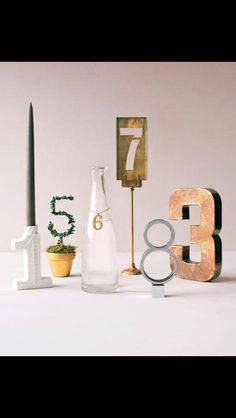 Table numbers - all different