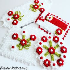 Crochet Mat, Crochet Borders, Instagram, Embroidery, Christmas Ornaments, Holiday Decor, Flowers, Fiber, Crochet Ideas