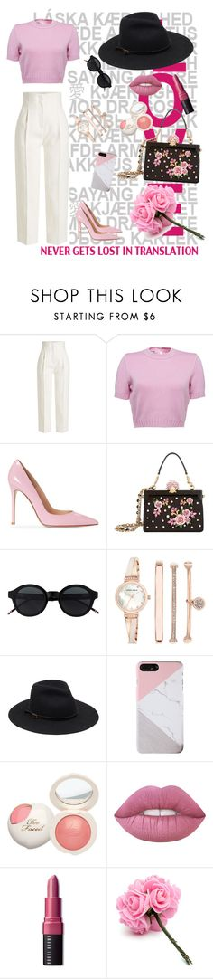 """""""Untitled #46"""" by fashion-number1 ❤ liked on Polyvore featuring Rosetta Getty, Dolce&Gabbana, Anne Klein and Bobbi Brown Cosmetics"""