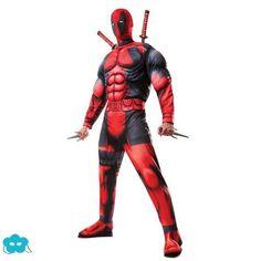 Disfraz de Deadpool Deluxe para hombre Disfraces Niños Superheroes ce62b3416fa3