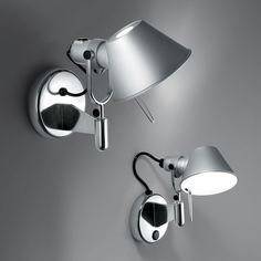 Artemide Tolomeo 5 Light LED Classic Wall Spot Light without Switch Modern Wall Lights, Modern Lighting, Wall Lighting, Lumiere Led, Luz Led, Ceiling Fixtures, Wall Sconces, Wall Lamps, Bulb