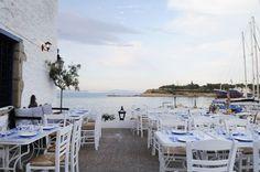 Orloff Restaurant in Spetses island, Greece. See more at www.grecianparadise.com