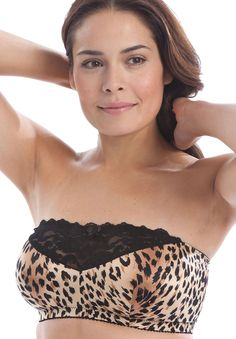 Plus Size Stay-in-place strapless bra