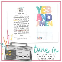 Tune In Series: Where I Belong - Illustrated Faith Yes And Amen, Devotional Journal, Scripture Reading, Word Nerd, Faith Bible, Worship Songs, Illustrated Faith, Travelers Notebook, News Songs